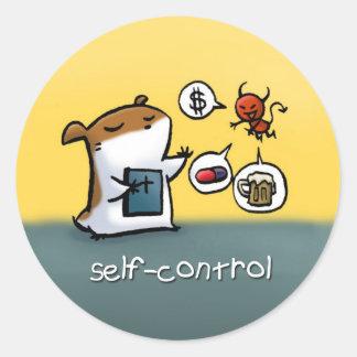 Fruit of the Spirit Sticker (Self-Control)