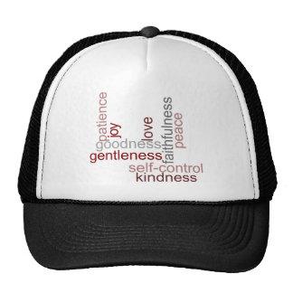 Fruit of the Spirit Word Art Trucker Hat