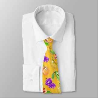 Fruit of the Spirt kids tie cute cartoon