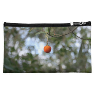 Fruit of the tree of madroño in the mountain range cosmetic bag