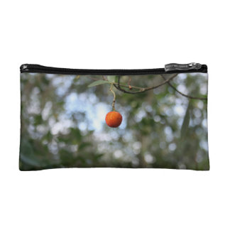 Fruit of the tree of madroño in the mountain range makeup bag