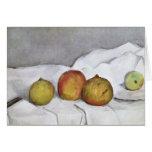 Fruit on a Cloth, c.1890 Card