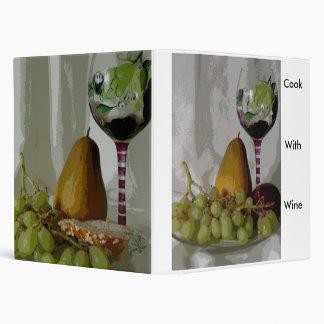 Fruit On The Vine 3 Ring Binder