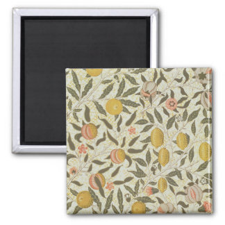 Fruit or Pomegranate wallpaper design 2 Inch Square Magnet