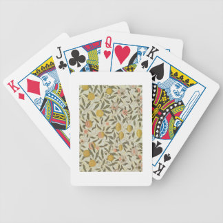 Fruit or Pomegranate wallpaper design Bicycle Playing Cards