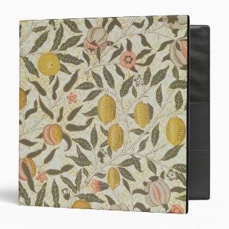 Fruit or Pomegranate wallpaper design Vinyl Binders