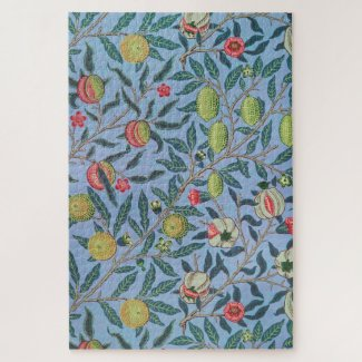 Fruit or Pomegranate William Morris Jigsaw Puzzle