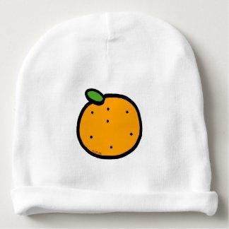 fruit orange baby beanie