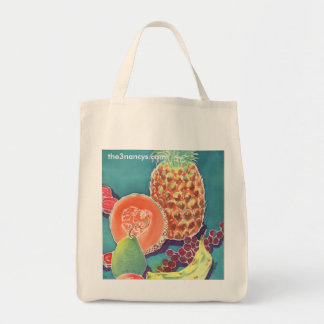 Fruit Organic Tote Bags