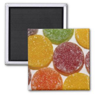 Fruit Pastilles closeup Magnet