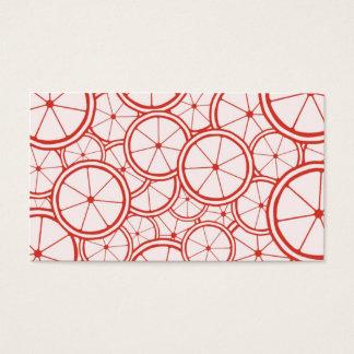 Fruit Pattern - Grapefruit Business Card