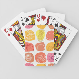 Fruit pattern playing cards