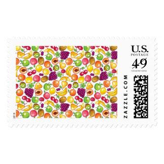 Fruit Pattern Postage