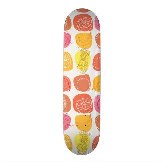 Fruit pattern skateboard deck
