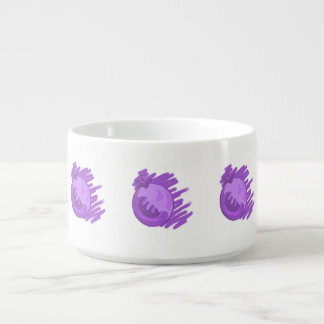 Fruit Patterns Blueberries and Cream Bowl