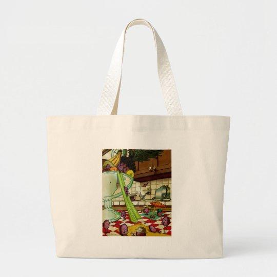 Fruit Picnic Large Tote Bag
