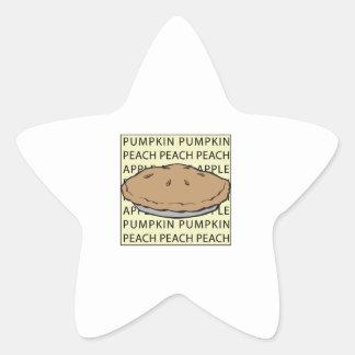 Fruit Pie Star Sticker