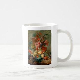 Fruit Piece - Jan van Huysum (1722) Coffee Mug