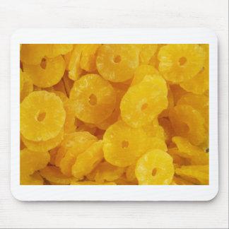 Fruit Pineapple Yellow Sweet Dessert Destiny Food Mouse Pad