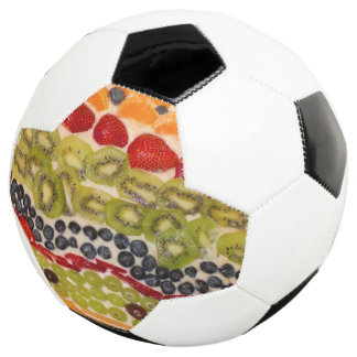 Fruit Pizza Close-Up Photo Soccer Ball