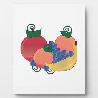 Fruit Plaque