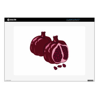 "Fruit Pomegranate 15"" Laptop Decal"