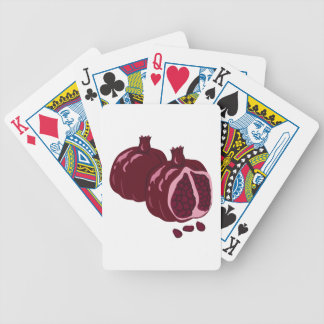 Fruit Pomegranate Bicycle Playing Cards