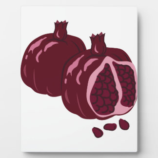 Fruit Pomegranate Display Plaque