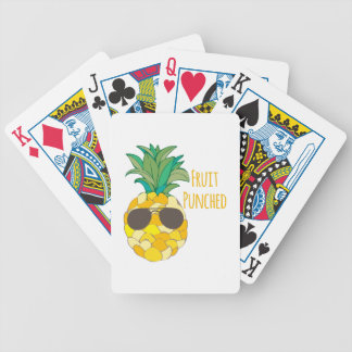 FRUIT PUNCHED PLAYING CARDS