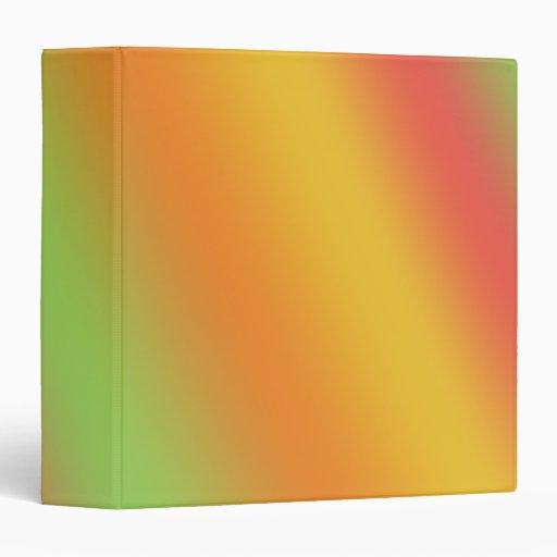 fruit rainbow 1 5 u0026quot  custom avery binder    organizer