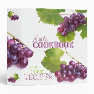 Fruit Recipes Cookbook Binder
