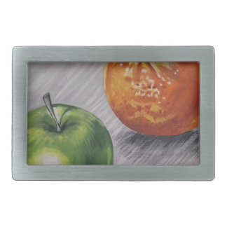 fruit rectangular belt buckle