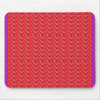 Fruit Red Seed Texture DIY Template add text image Mouse Pad