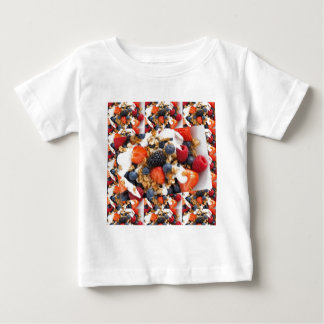 Fruit Salad Foods Chef Healthy Eating Cuisine Art Baby T-Shirt