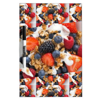 Fruit Salad Foods Chef Healthy Eating Cuisine Art Dry Erase Board