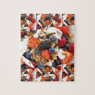 Fruit Salad Foods Chef Healthy Eating Cuisine Art Jigsaw Puzzle