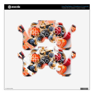 Fruit Salad Foods Chef Healthy Eating Cuisine Art PS3 Controller Skin