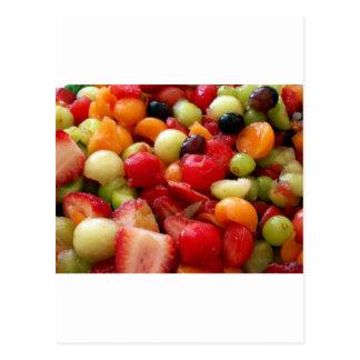 fruit salad medley postcard