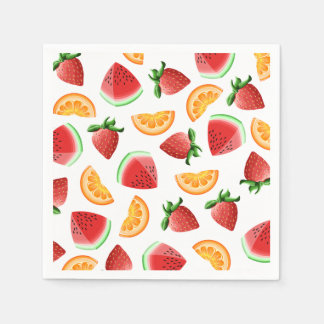 Fruit Salad Napikins Paper Napkin
