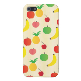 Fruit Salad Pattern iPhone SE/5/5s Cover