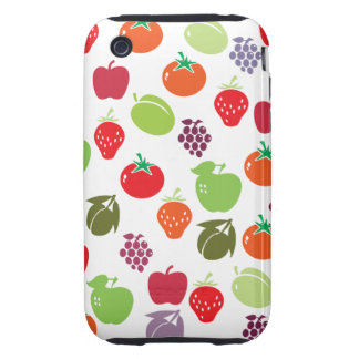 Fruit salad tough iPhone 3 case