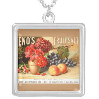 Fruit Salt Advertisement Custom Necklace