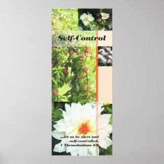 fruit self control poster