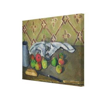 Fruit, Serviette and Milk Jug, c.1879-82 Canvas Print