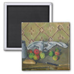 Fruit, Serviette and Milk Jug, c.1879-82 2 Inch Square Magnet