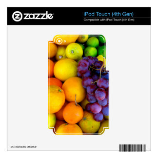 Fruit Skins For iPod Touch 4G
