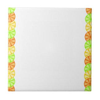 Fruit Slice Frame Tile