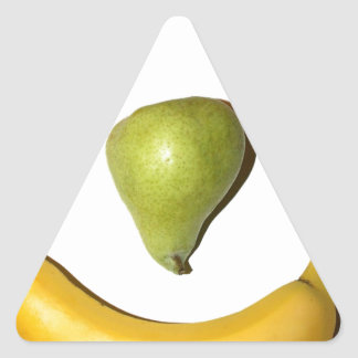 Fruit Smiley Face Triangle Sticker