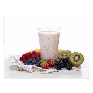 Fruit Smoothie Postcard