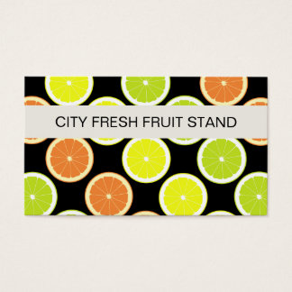 Fruit Stand Business Cards